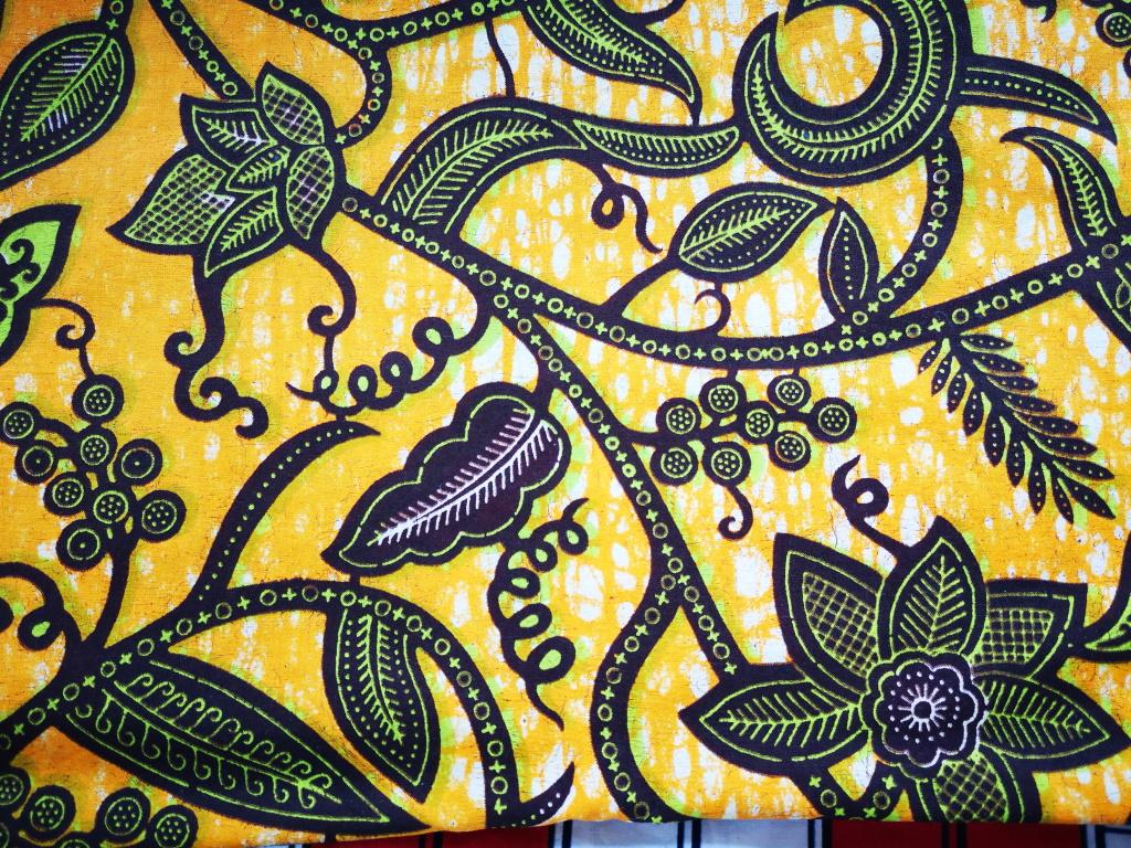 Gele kimono Mozaïekjas